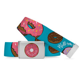 Running Lifestyle Belt Will Run For Donuts