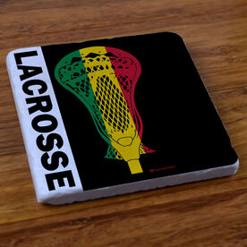 RastaLACROSSE - Stone Coaster