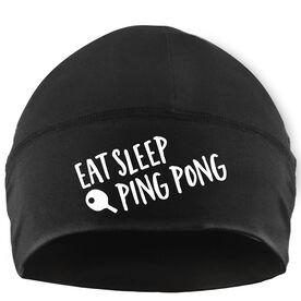 Beanie Performance Hat - Eat Sleep Ping Pong