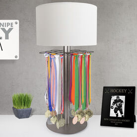 Hockey Tabletop Medal Display Lamp