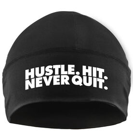 Beanie Performance Hat - Rugby Hustle Hit Never Quit