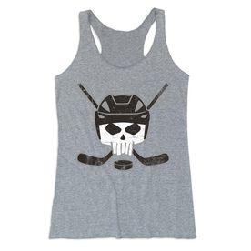 Hockey Women's Everyday Tank Top - Hockey Helmet Skull