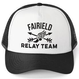Running Trucker Hat - Custom Relay Team