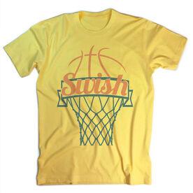 Vintage Basketball T-Shirt - Swish