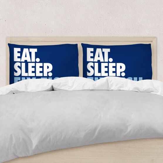 Fly Fishing Pillowcase - Eat. Sleep. Fly Fish.
