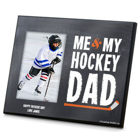 Hockey Photo Frame Me & My Hockey Dad