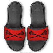 Guys Lacrosse Repwell® Sandal Straps - Crossed Sticks