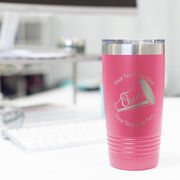 Cheerleading 20 oz. Double Insulated Tumbler - Megaphone Icon