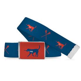 Lacrosse Lifestyle Belt Max The Lax Dog