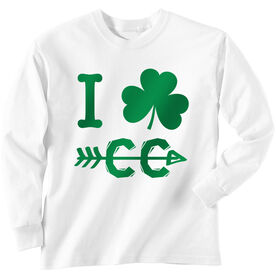 Track & Field Tshirt Long Sleeve I Shamrock Cross Country CC