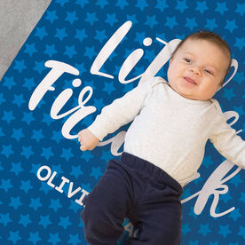 Personalized Baby Blanket - Little Firework