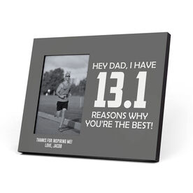 Running Photo Frame - 13.1 Reasons Why You're The Best Dad
