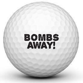 Bombs Away Golf Ball