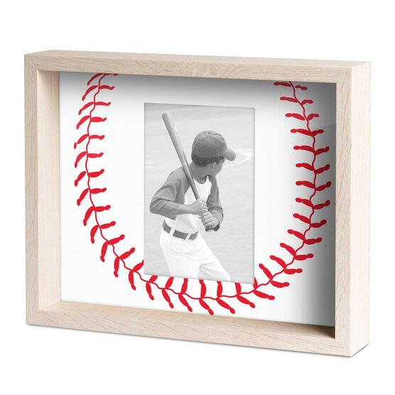 Baseball Premier Frame - Stitches Pattern