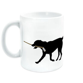 Hockey Coffee Mug Howe the Hockey Dog