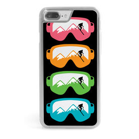 Skiing iPhone® Case - Multicolored Snow Goggles