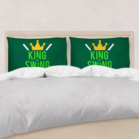 Golf Pillowcase - King Of Swing