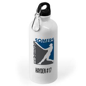 Baseball 20 oz. Stainless Steel Water Bottle - Custom Logo