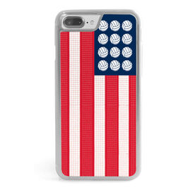 Volleyball iPhone® Case - Patriotic Volleyball