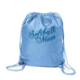 Softball Sport Pack Cinch Sack Mom Script