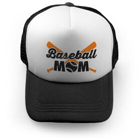Baseball Trucker Hat Mom