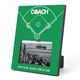 Baseball Photo Frame - Coach (Field)