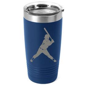 Softball 20 oz. Double Insulated Tumbler - Batter