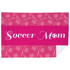 Soccer Premium Blanket - Mom Stripe