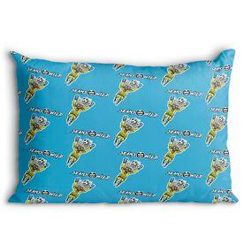 Seams Wild Soccer Pillowcase - Blockler (Pattern)