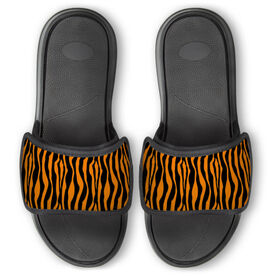Personalized Repwell® Slide Sandals - Tiger Stripes