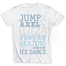 Vintage Figure Skating T-Shirt - Typographic