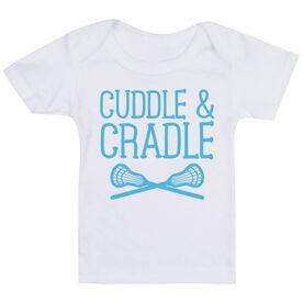Lacrosse Baby T-Shirt - Cuddle & Cradle