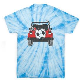 Soccer Short Sleeve T-Shirt - Soccer Cruiser Tie Dye