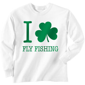 Fly Fishing Tshirt Long Sleeve I Shamrock Fly Fishing