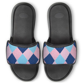 Personalized Repwell® Slide Sandals - Patchwork