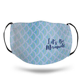 Swimming Face Mask - Let's Be Mermaids