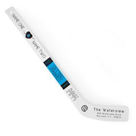 Personalized Knee Hockey Player Stick Wedding Invitation