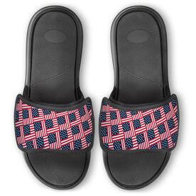 Repwell® Slide Sandals - American Flag Repeat