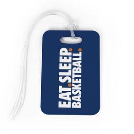 Basketball Bag/Luggage Tag - Eat Sleep Basketball