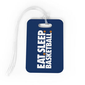 Basketball Bag/Luggage Tag - Eat Sleep Basketball