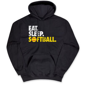 Softball Standard Sweatshirt Eat. Sleep. Softball.