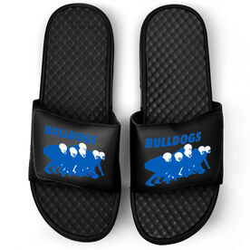 Football Black Slide Sandals - Band of Brothers