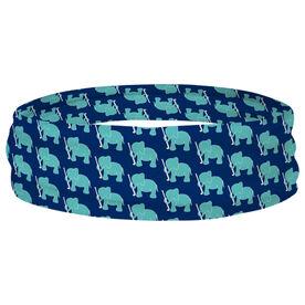 Field Hockey Multifunctional Headwear - Elephant Pattern RokBAND