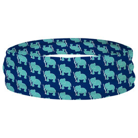 Field Hockey Multifunctional Headwear - Elephant Pattern RokBAND