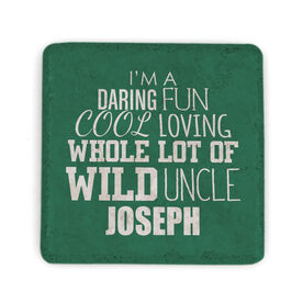 Personalized Stone Coaster - That's My Uncle