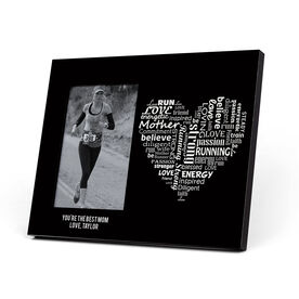 Running Photo Frame - Runner Mom's Heart
