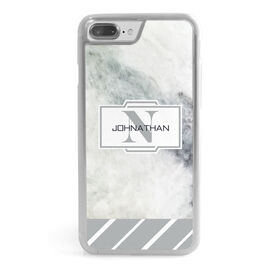 Personalized iPhone® Case - Marble Monogram