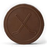 Custom Chocolate Hockey Puck