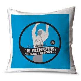 Wrestling Throw Pillow Dr. Takedown