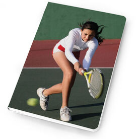 Tennis Notebook Custom Photo